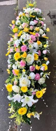 Lemon and Pink Coffin Spray
