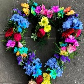 Eco Willow Heart Wreath